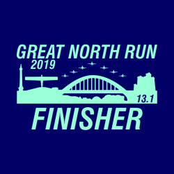 Great North Run Finisher Hoodie