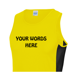 Mens running vests