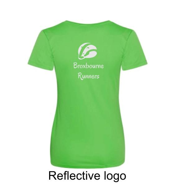 Broxbourne-Runners-lime-tshirt-back-reflective