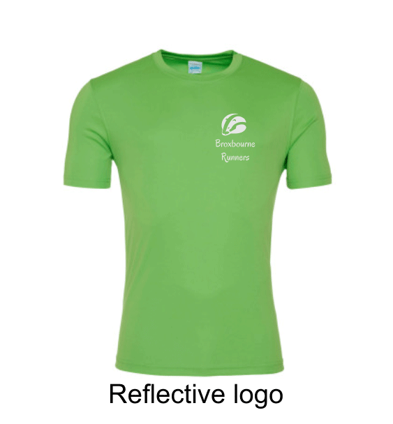 Broxbourne-Runners-lime-tshirt-front-reflective