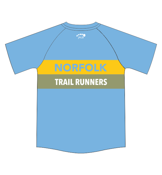 Norfolk Trail Runners tshirt back