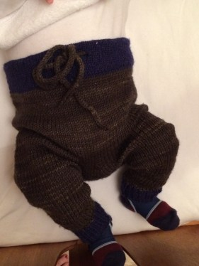 Another lovely Tin Can Knits pattern - adorable and very practical trousered
