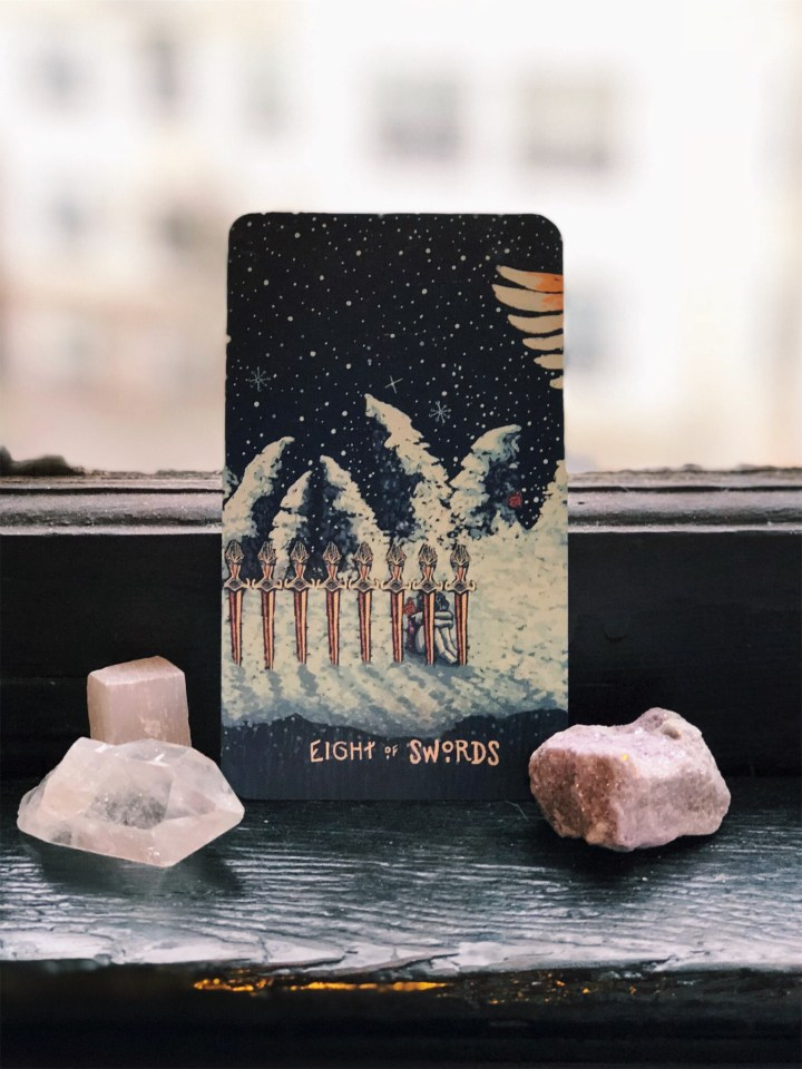 Tarot of the Day: 8 of Swords