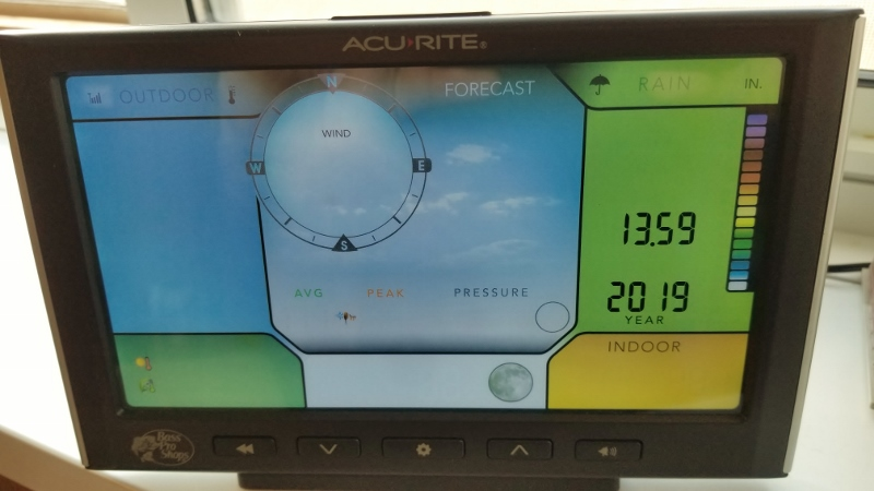 5-30-19 WX Station
