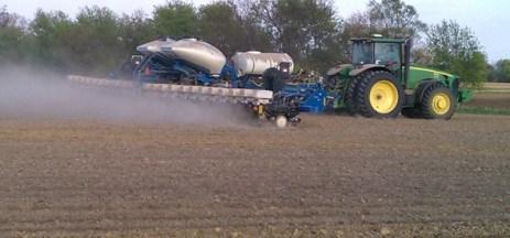 Planting Corn in 2012