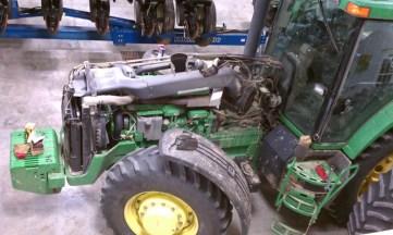 Repairing exhaust on 8400
