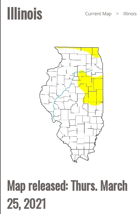 3-25-21 Drought Map