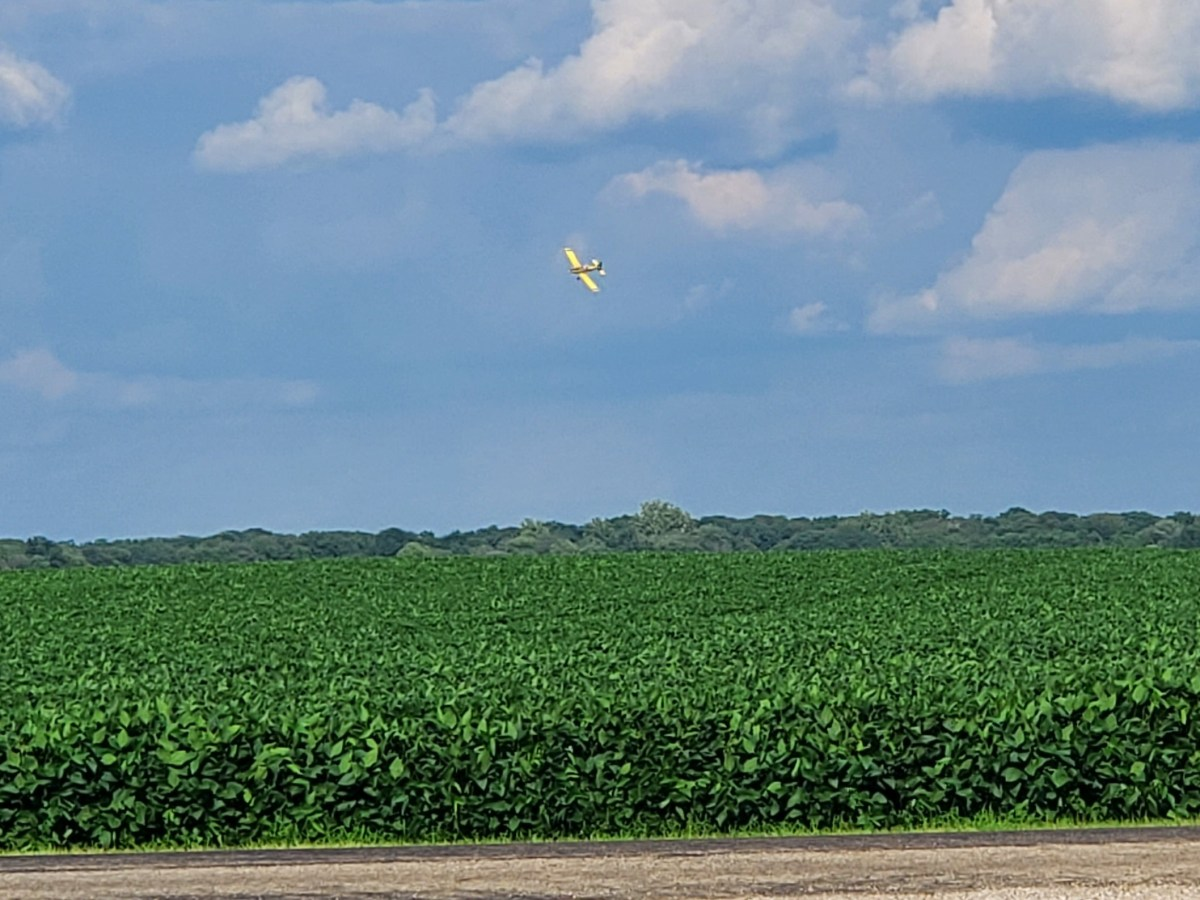 Aerial Fungicide Application