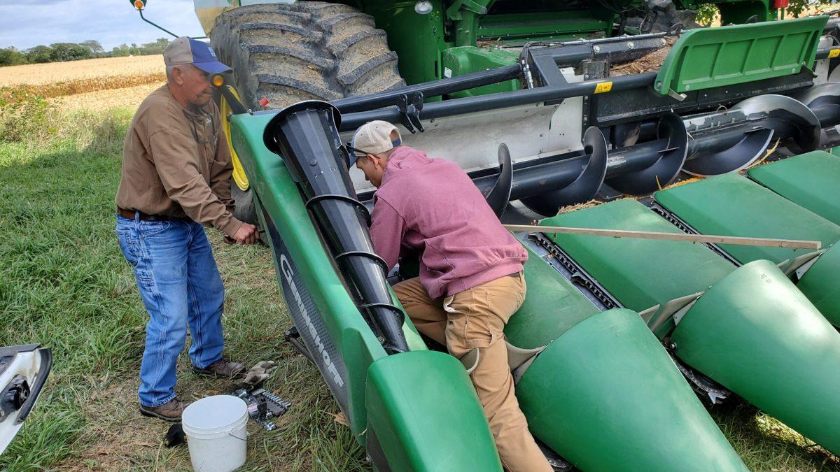 Corn Head Repair
