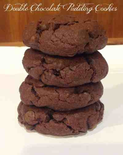 Double Chocolate Pudding Cookie