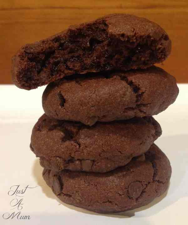 Chocolate Pudding Cookies
