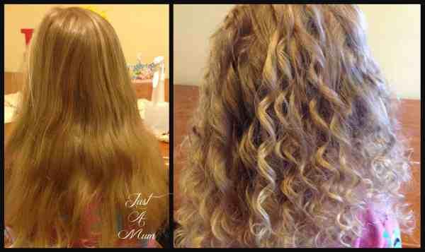 Rag Curls Tutorial Just a Mum