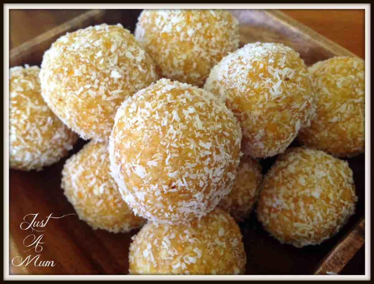 Apricot & Coconut Bliss Balls