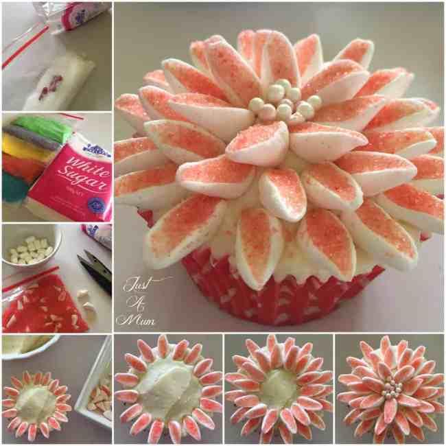 Just A Mum Chelsea Sugar Cupcakes