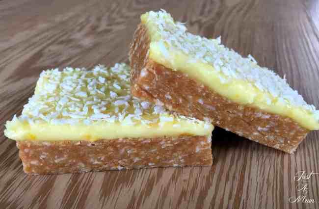 Just A Mum's No Bake Citrus Slice