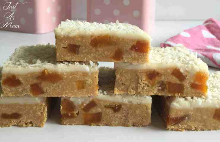 No-Bake Apricot Slice