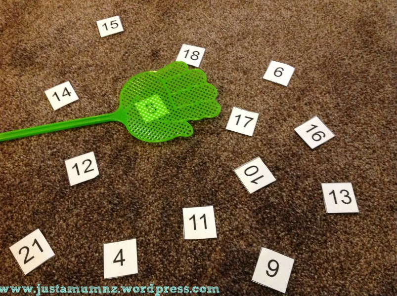 Fun Maths Game for Kids   Number Swat   Just a Mum Number Swat 1