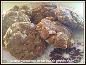 Anzac Biscuits - Recipe
