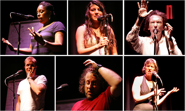 Storytellers at The Moth