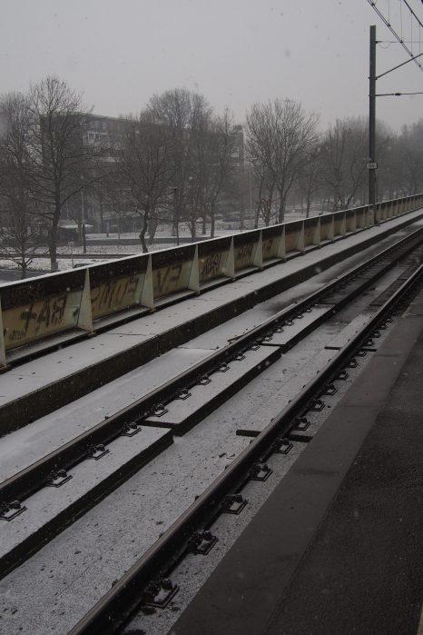 Still waiting for my train.