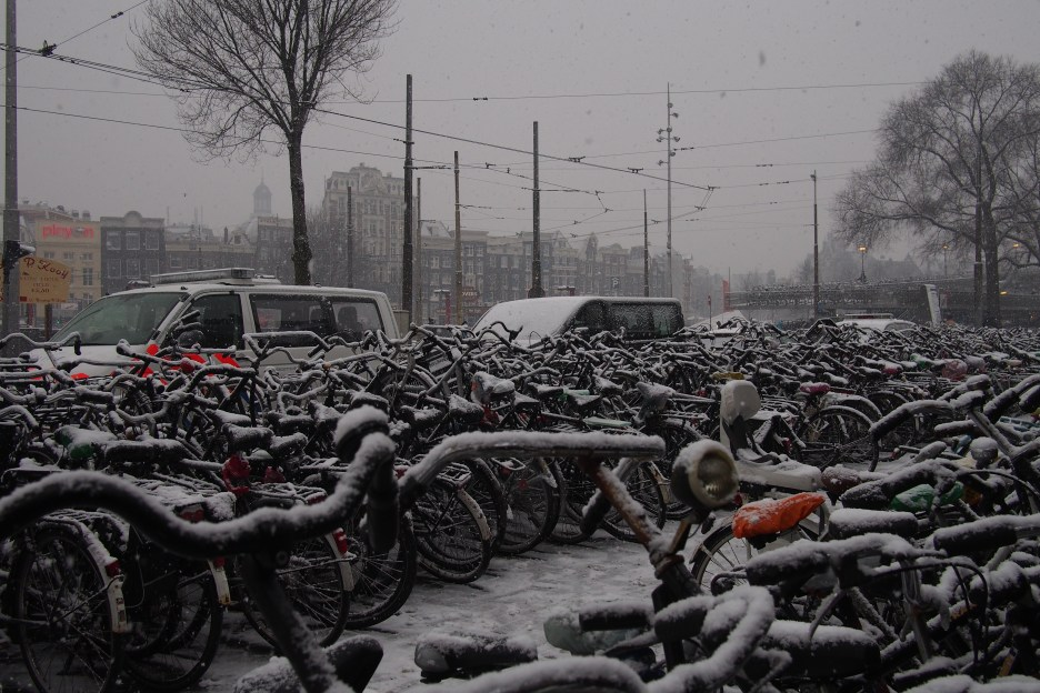 Amsterdam was white.