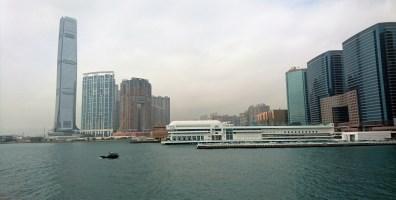 The view towards Hong Kong Island