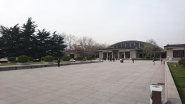 Entering the Terracotta Warrior Museum!