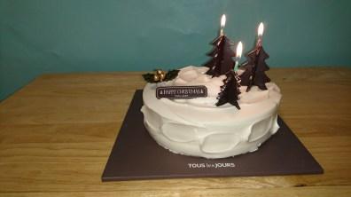 Cake for dessert!