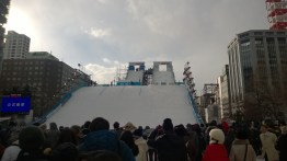 The ski jump!