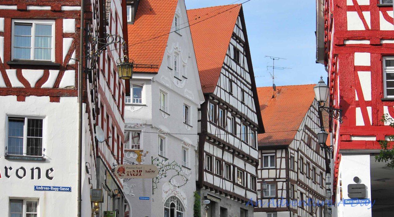 Fachwerk in the city center of our Baden Württemberg hometown.
