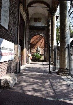 entrance to Santa Sabina