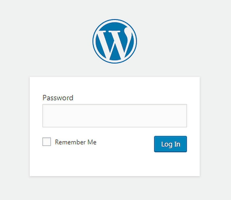 Password Protect Your Site