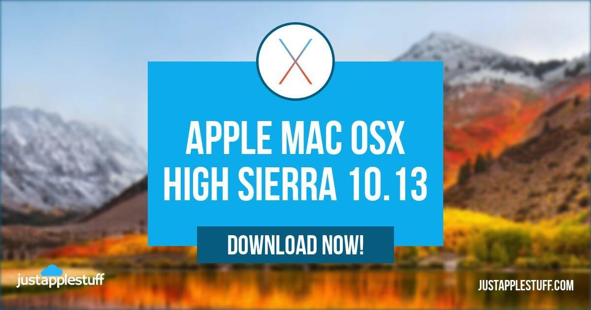 Mac OS High Sierra Download