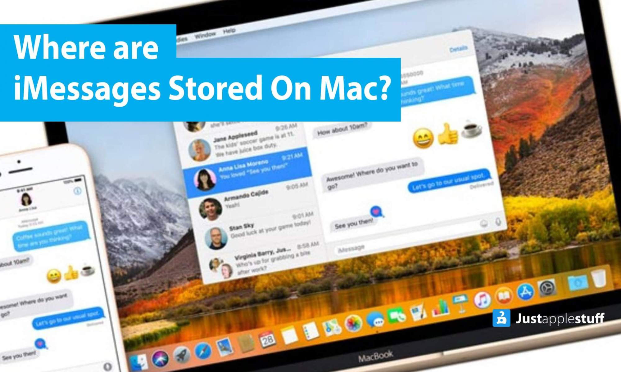 iMessages Stored On Mac