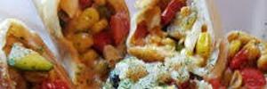 Zucchini, Corn and Tomato Burritos 2