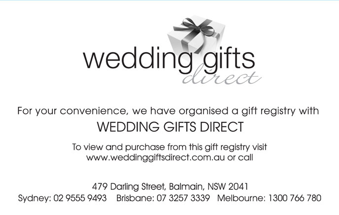 Wedding Gift Registry.. Are You Having One?