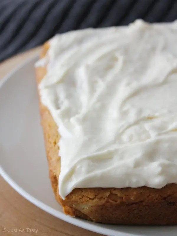 Sour Cream Maple Cake – Gluten Free, Eggless