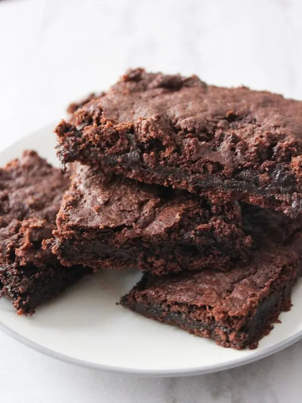 Fudgy Brownies – Gluten Free, Eggless