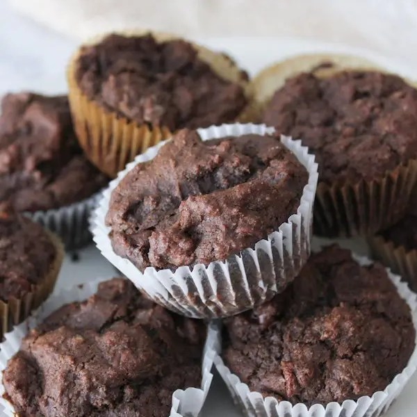 Double Chocolate Muffins – Gluten Free, Eggless
