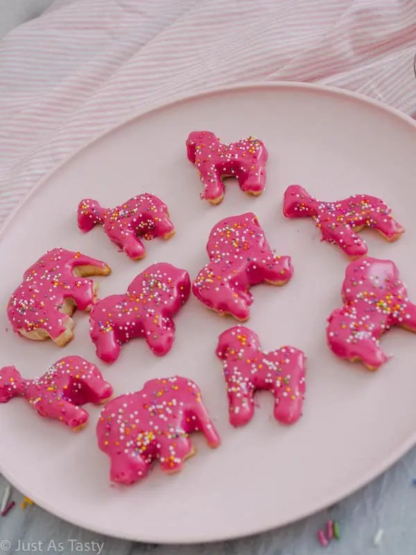 Circus Animal Cookies – Gluten Free, Eggless