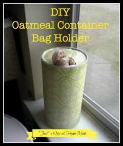oatmeal container bag holder3