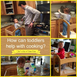 cooking with a toddler