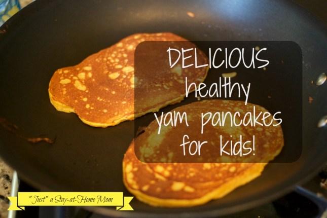 yam pancakes