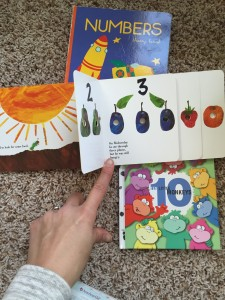 Number books Montessori