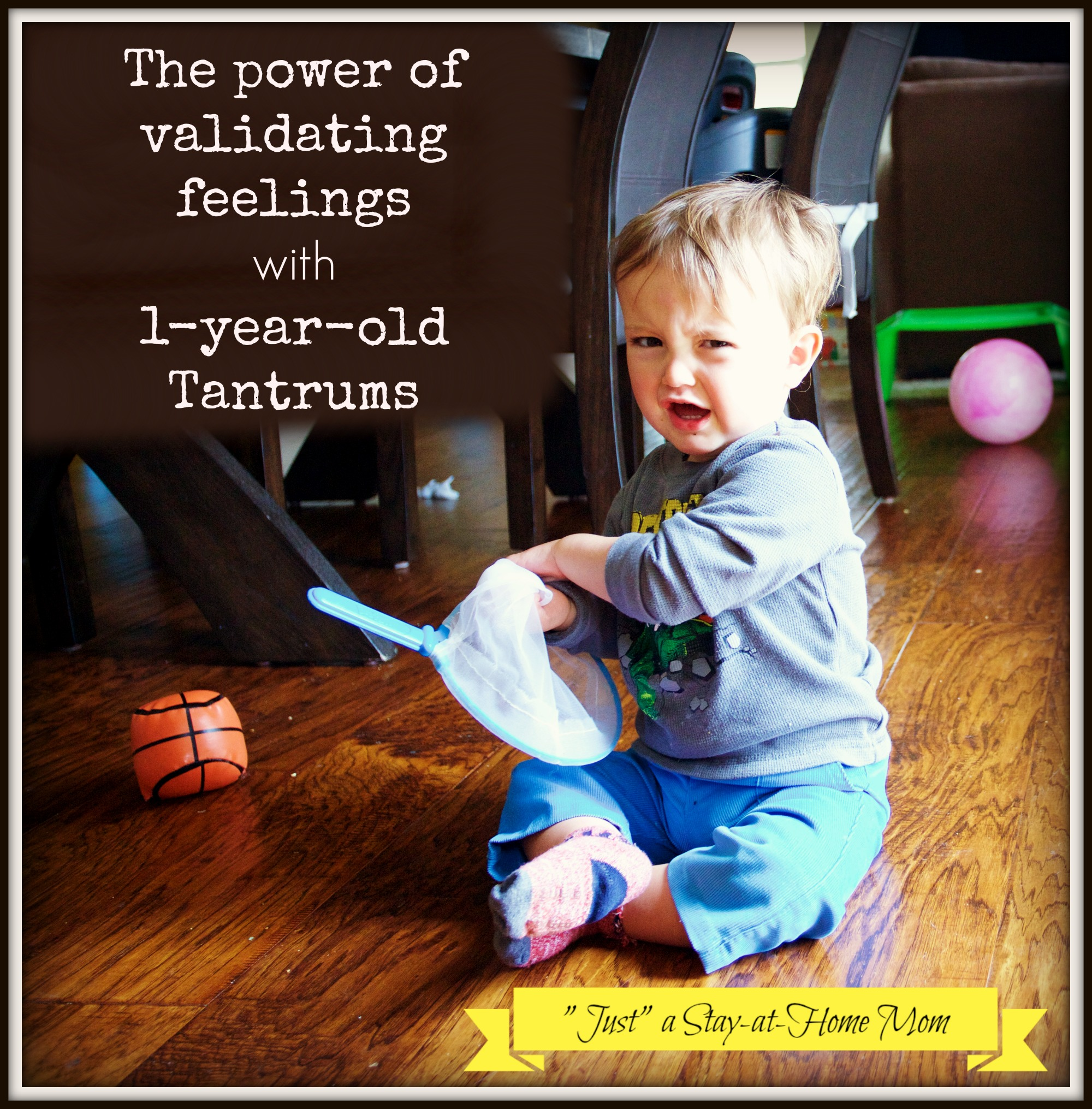 How To Help A 1 Year Old Having A Tantrum