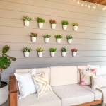 Diy Plant Wall Patio Decor Just A Tina Bit