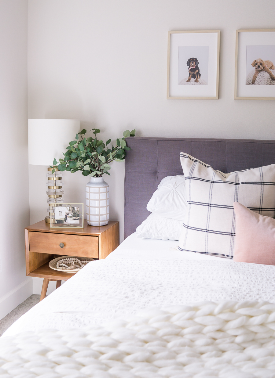 Small Guest Bedroom Makeover With Behr Paint Just A Tina Bit