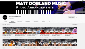 Videos of Easy pop-song tutorials by Matt Dorland