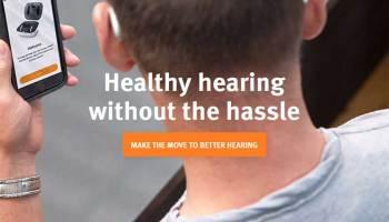 Shift Hearing Aid Website