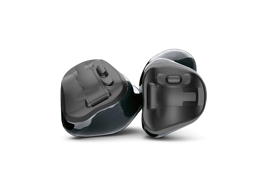 Virto Black hearing aids